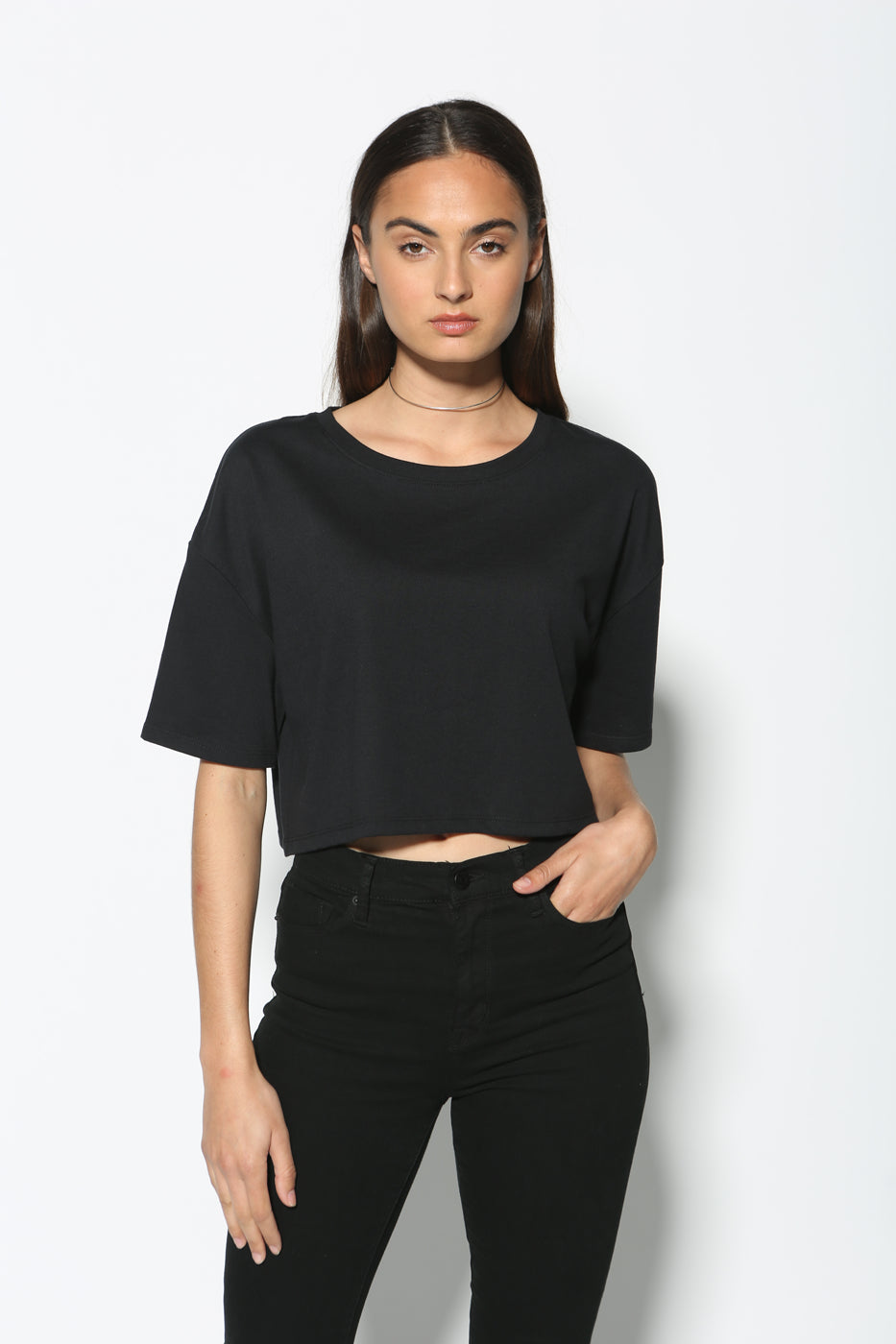 Rai Oversized Crop