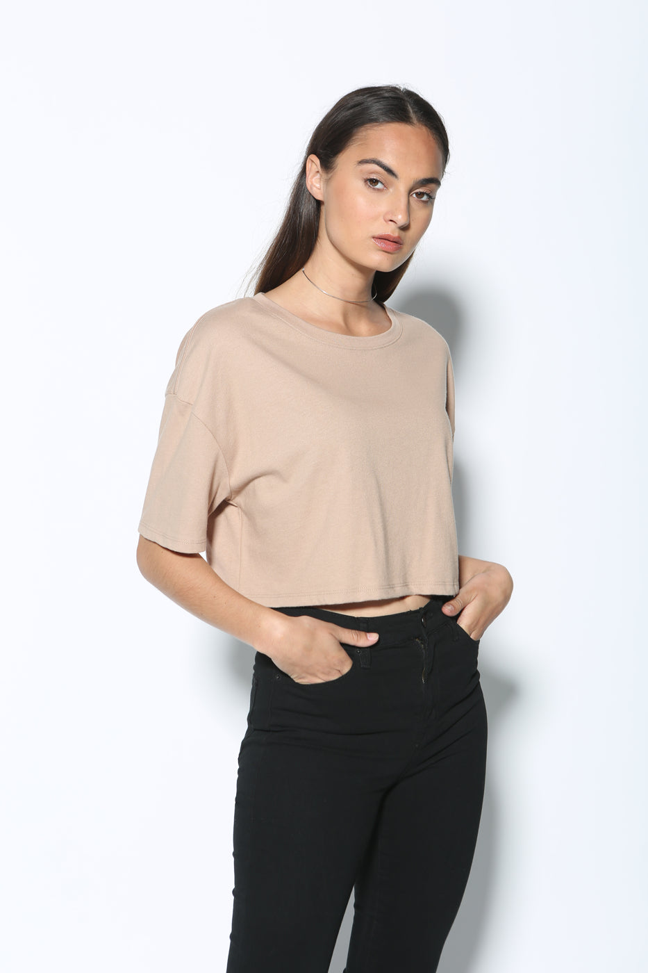 Top - Rai Oversized Crop