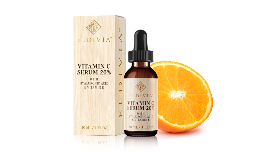 Vitamin C Serum To Fight Anti Aging By Eldivia Brand