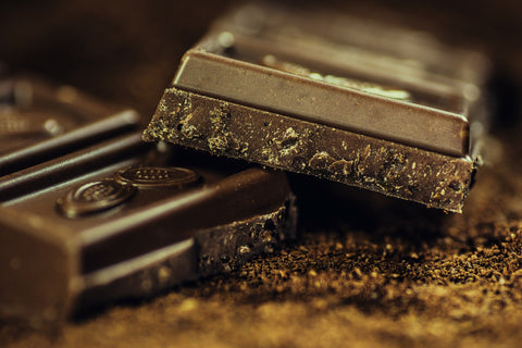 dark chocolate helps prevent wrinkles