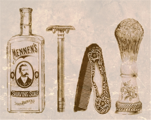 shave-cream-razor-mens-grooming