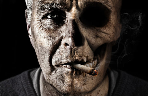 smoking causes wrinkles