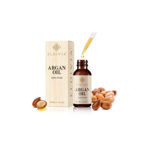 argan oil serum pure unrefined cold pressed 1 ounce eldivia