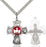 Sterling Silver 5-Way Necklace Set