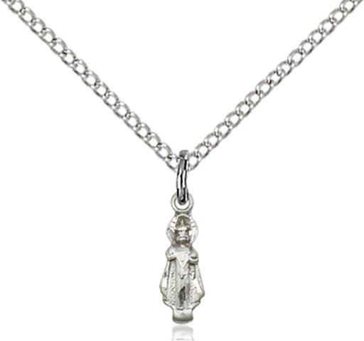 Sterling Silver Infant Necklace Set