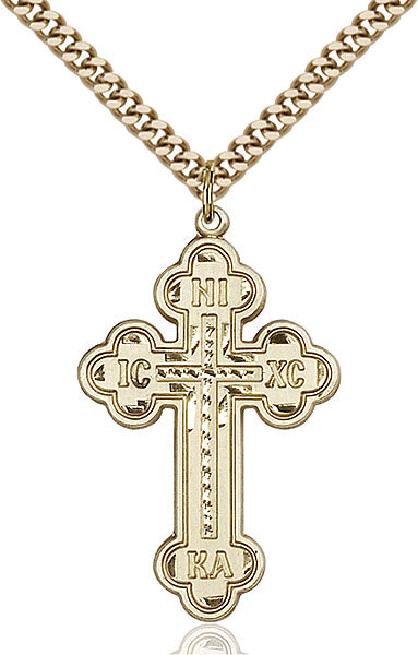 Gold-Filled Cross Necklace Set