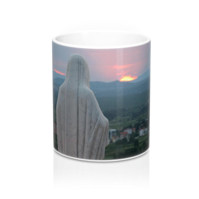 Our Mother at Sunset Mug