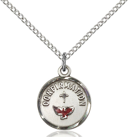 Sterling Silver Confirmation Necklace Set