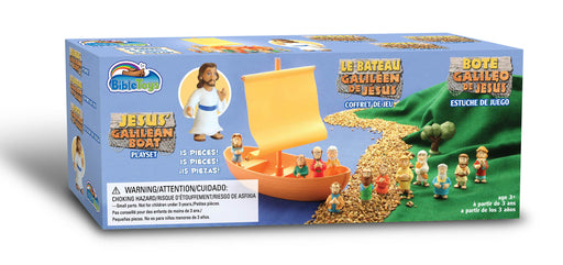 Galilee Boat with Apostles Playset