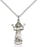 Sterling Silver Divino Nino Necklace Set