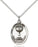 Sterling Silver Holy Communion Necklace Set