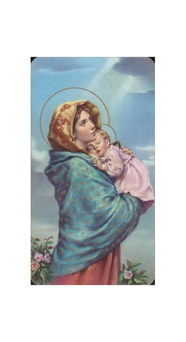 Madonna Of The Street Holy Card