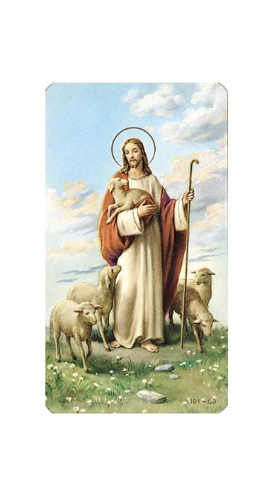 100-Pack - Good Shephard Paper Holy Card