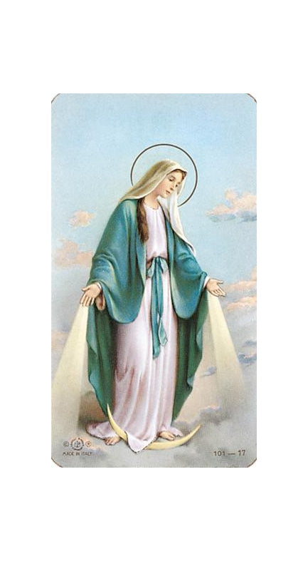 100-Pack - Our Lady Of Grace Holy Card