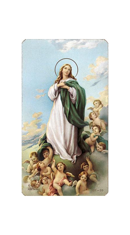 100-Pack - The Assumption Holy Card