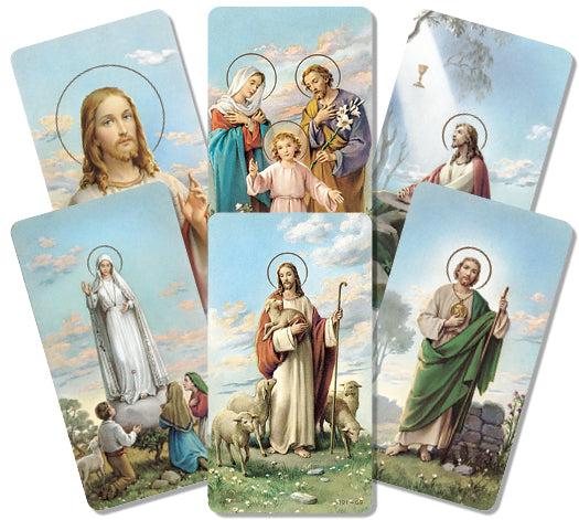 Assorted Subjects Holy Cards
