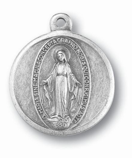 Oxidized Miraculous Medal 25-Pack