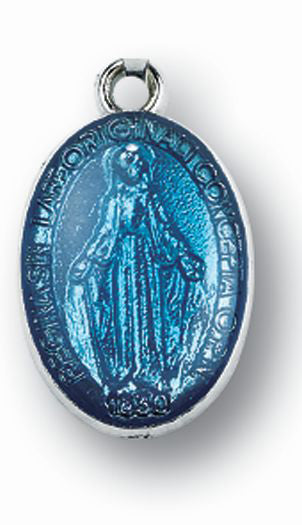 Small Enamel Miraculous Medal 25-Pack