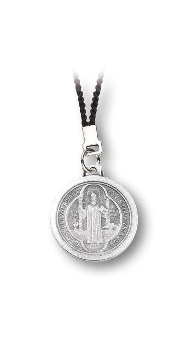 St Benedict Medal On 30 Inch Black Cord