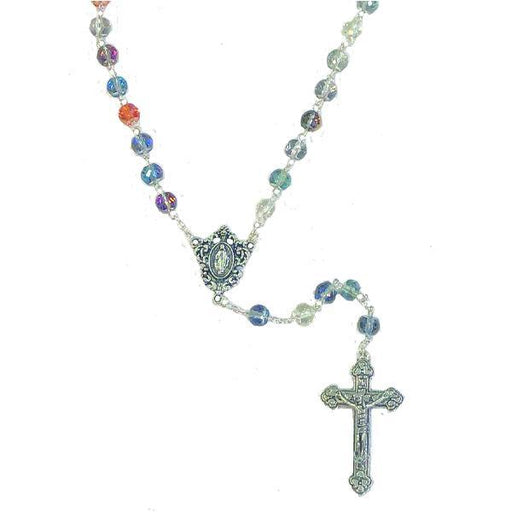 Round Multi-color Bead Rosary