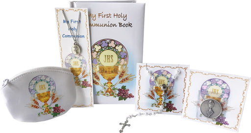 First Holy Communion 6 piece Girl's Gift Set
