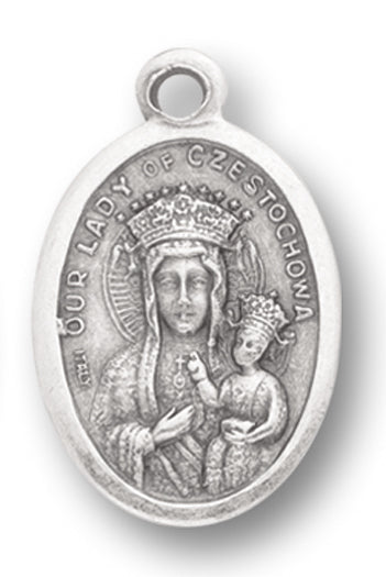 Our Lady Of Czestochowa/Sacred Heart 25-Pack