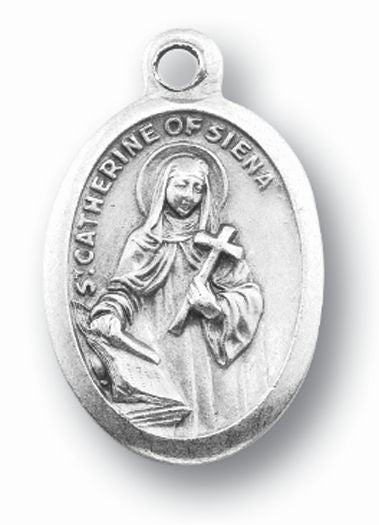 Catherine and Pray For Us Ox Medal 25-Pack