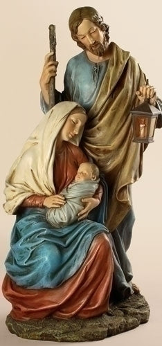 15.5-inch Holy Family Figurineure