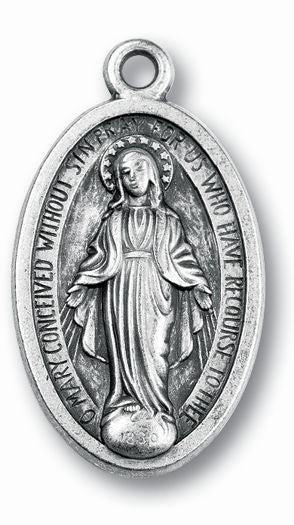 Large Miraculous Medal 1 7/8-inch 25-Pack