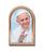 2.5-inchX3.5-inch Pope Francis Single Arched Standing Plaque