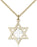 Two-Tone Sterling Silver and Gold-Filled Star of David Necklace Set