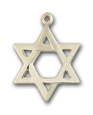 Gold-Filled Star of David Necklace Set