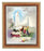 Our Lady Of Fatima In Cherry Frame 10.25X12.25-inch 8X10 Print