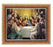 Last Supper In Cherry Frame 10.25X12.25-inch 8X10 Print
