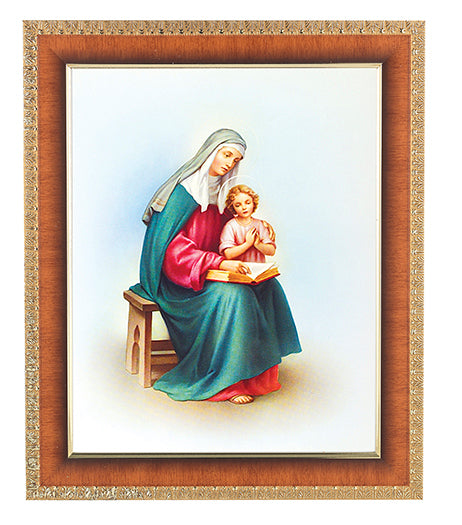 Saint Anne In Cherry Frame 10.25X12.25-inch 8X10 Print
