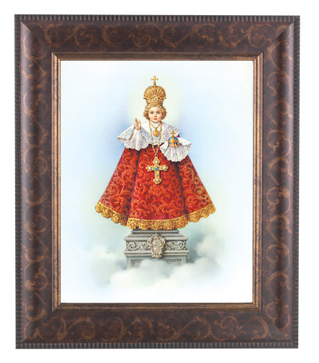 Infant Of Prague In Art Deco Frame 10.25X12.25-inch 8X10 Print