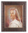 Head Of Christ In Art Deco Frame 10.25X12.25-inch 8X10 Print