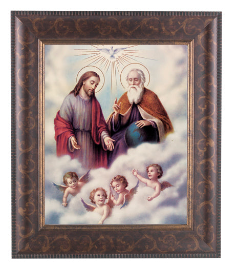 The Trinity In Art Deco Frame 10.25X12.25-inch 8X10 Print