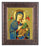 Our Lady Of Perpetual Help Art Deco Frame 10.25X12.25-inch 8X10 Print