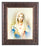 Immaculate Heart Of Mary 8X10 Art Deco Frame 10.25X12.25-inch