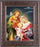 Holy Family In Art Deco Frame 10.25X12.25-inch 8X10 Print