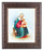 Saint Anne In Art Deco Frame 10.25X12.25-inch 8X10 Print