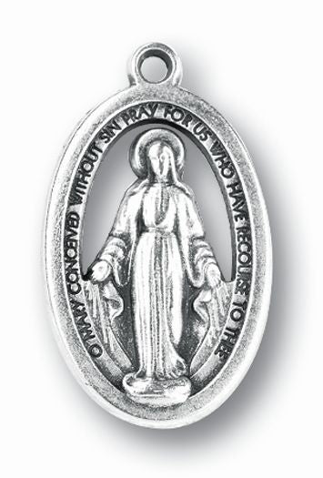 Miraculous Medal Oxidized 25-Pack