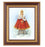 Infant Of Prague In Cherry Frame 10.25X12.25-inch 8X10 Print