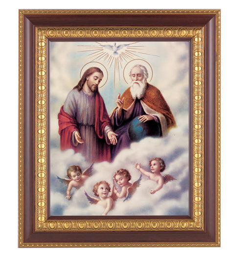 The Trinity In Cherry Frame 10.25X12.25-inch 8X10 Print