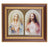 The Sacred Hearts In Cherry Frame 10.25X12.25-inch 8X10 Print