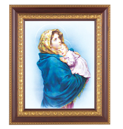 Our Lady Of The Street In Cherry Frame 10.25X12.25-inch 8X10 Print