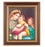 Raphael-Madonna and Child Cherry Frame 10.25X12.25-inch 8X10 Print