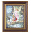 Guardian Angel In Cherry Frame 10.25X12.25-inch 8X10 Print
