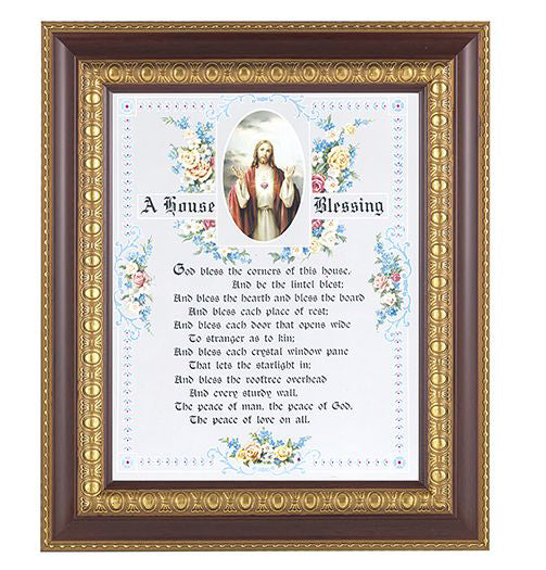 House Blessing-Shj In Cherry Frame 8X10 Print